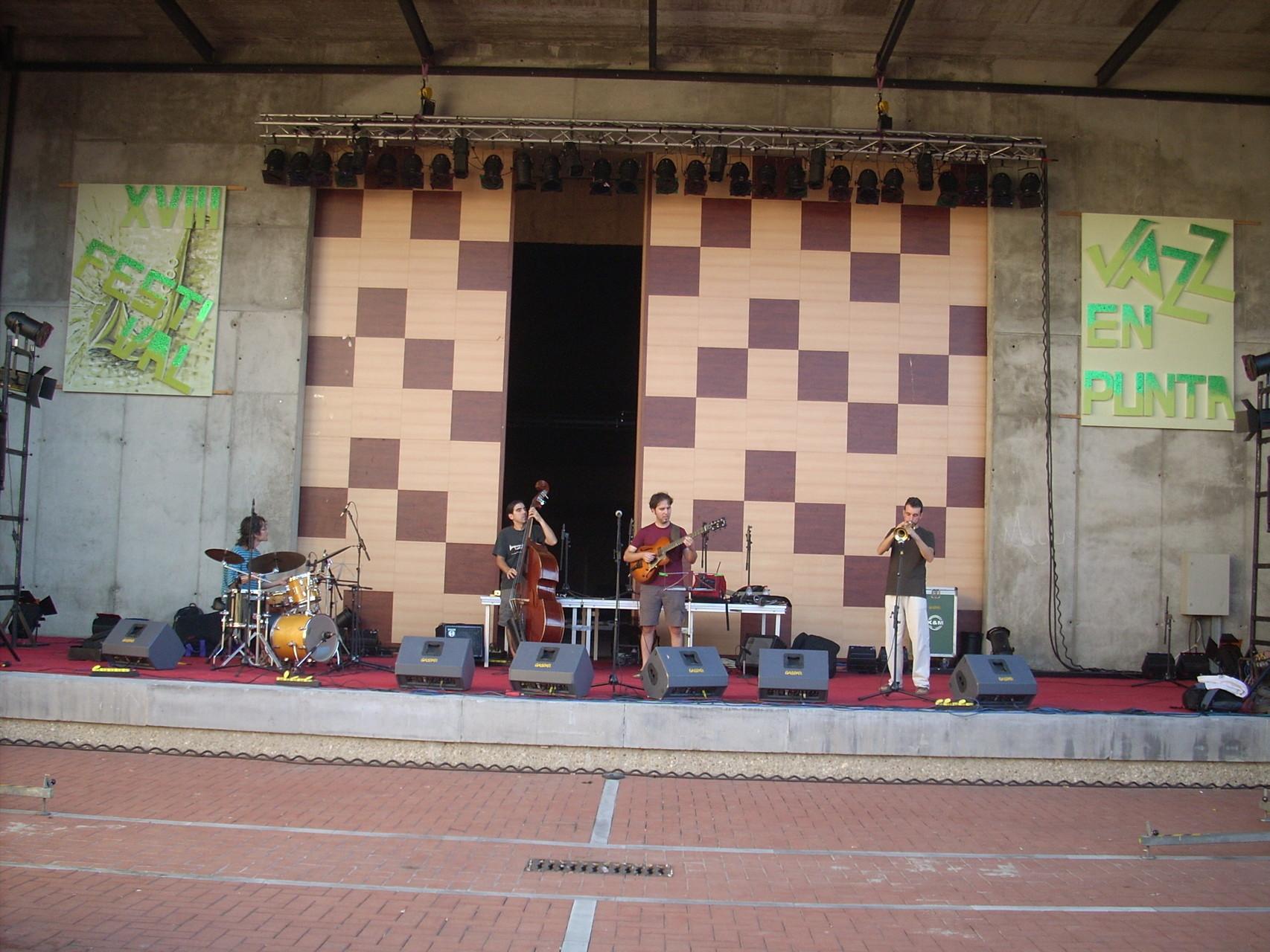 QUINTETO. FESTIVAL JAZZ EN PUNTA. PUNTA UMBRÍA. HUELVA. AGOSTO 2009