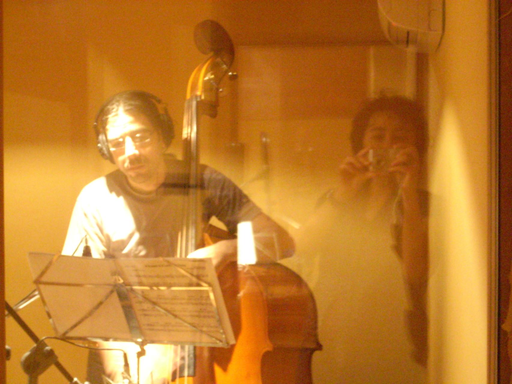 """GRABACION """"Solitude"""". ESTUDIO FERNANDO ROMERO, GRANADA. DICIEMBRE 2010"""