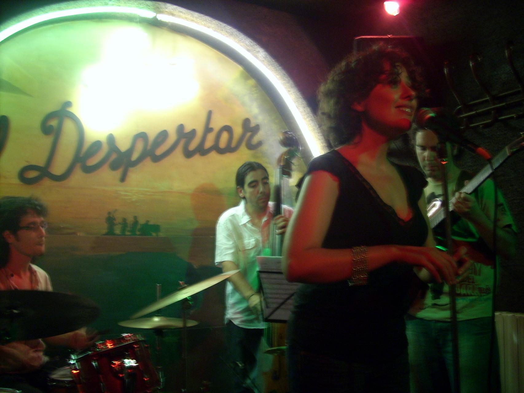 CUARTETO. CAFE EL DESPERTAR.MADRID JUNIO 2009
