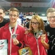 Vany Palzer 3 Platz, Bronze  Philip Pollheimer 2 Platz, Vize Weltmeister