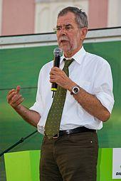Fotoquelle: https://de.wikipedia.org/wiki/Alexander_Van_der_Bellen