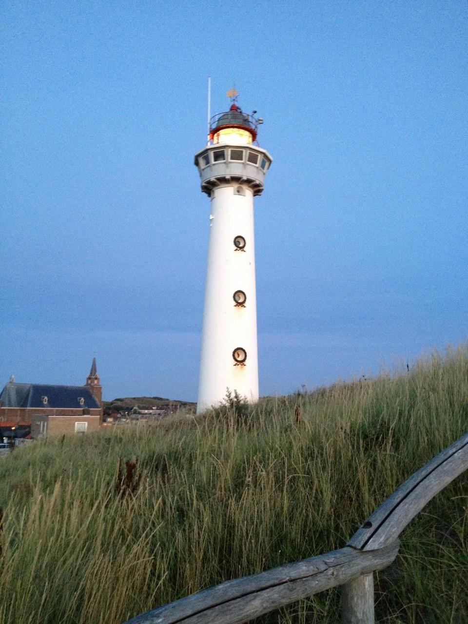 Leuchtturm von Egmond '' J.C.J.van Speijk''