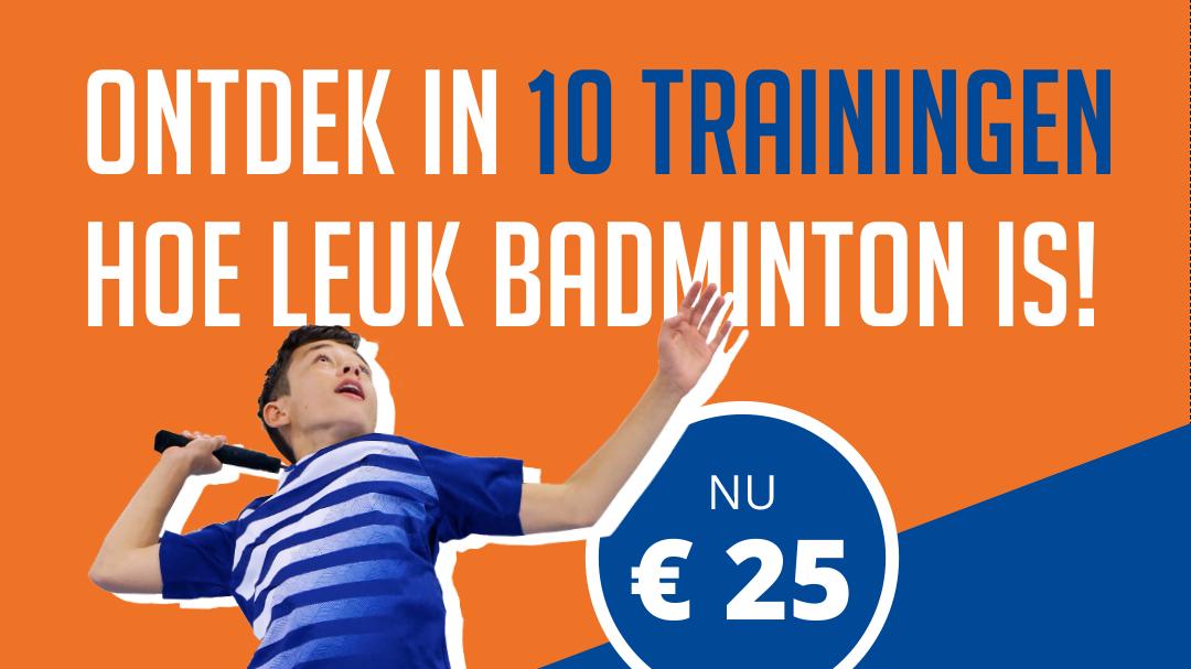 Probeer badminton in Hoorn!