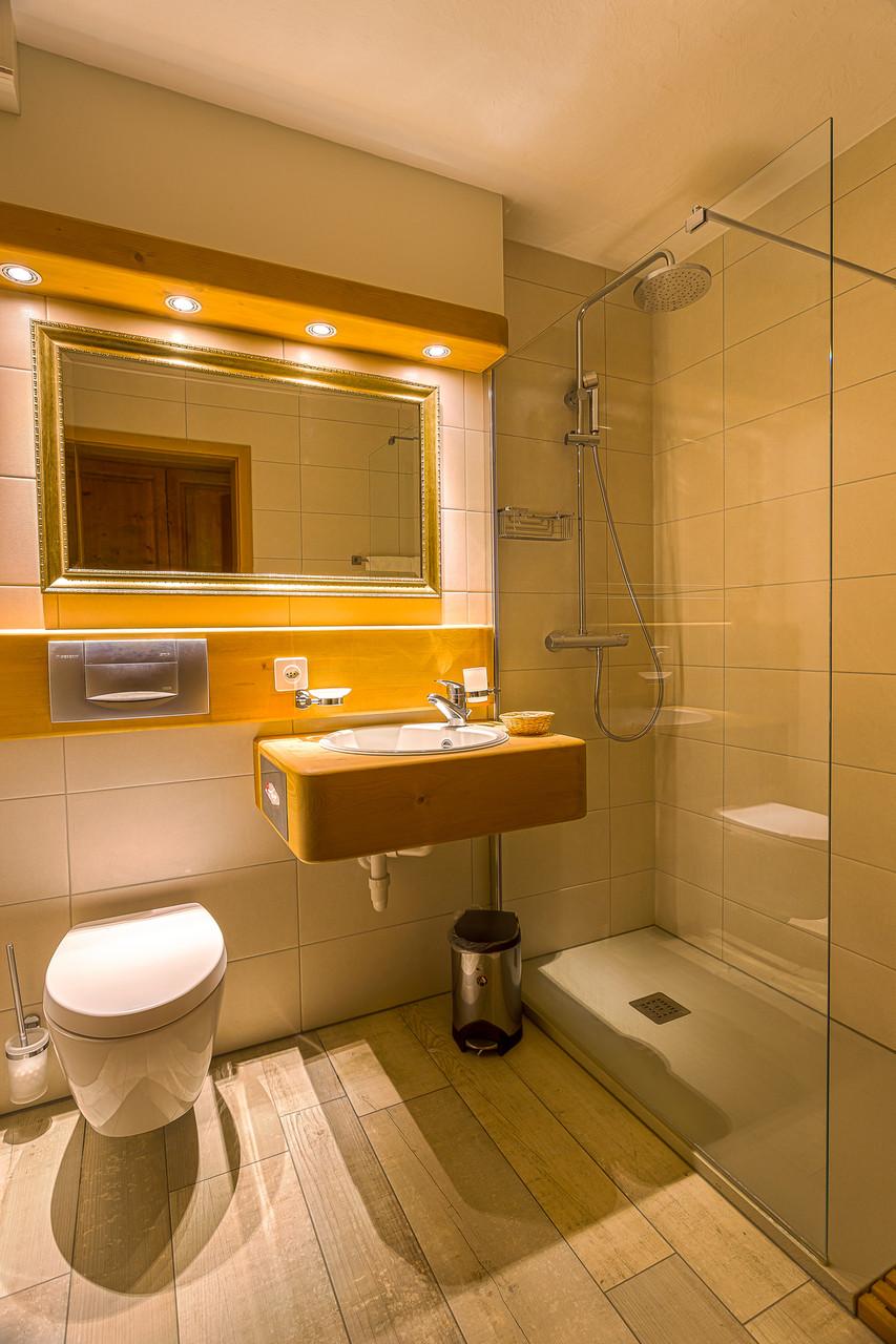 La salle de bains des grands studios