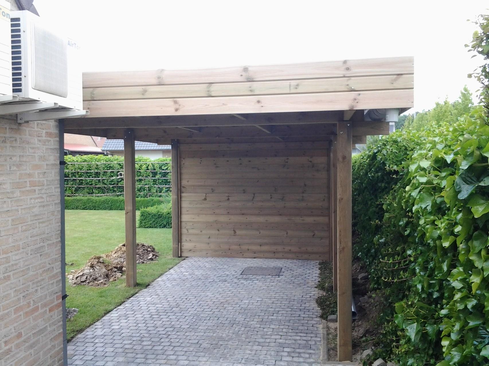 Tuinhuis carport afsluitingen tuinhuis carport terras afsluitingen - Overdekt terras in hout ...