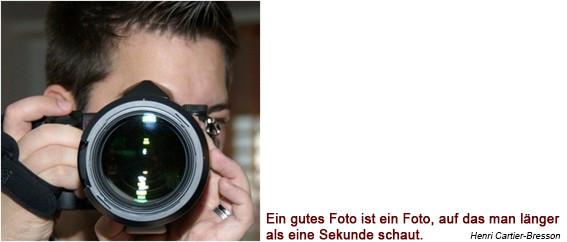 Beat fotografiert mit Kamera, Objektiv nahe
