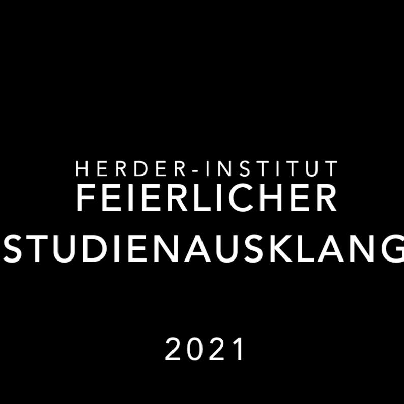Feierlicher Studienausklang, Herder-Institut