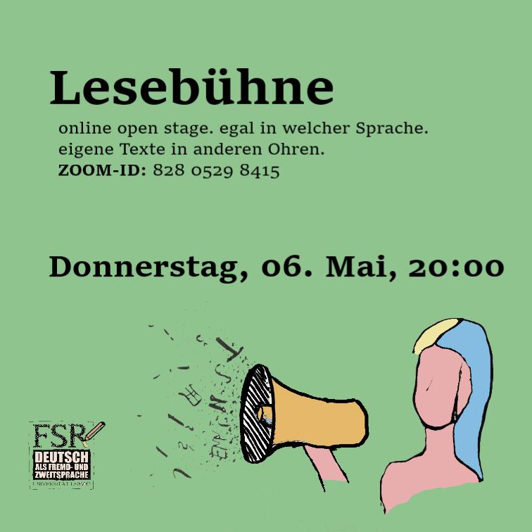 Lesebühne/online open stage
