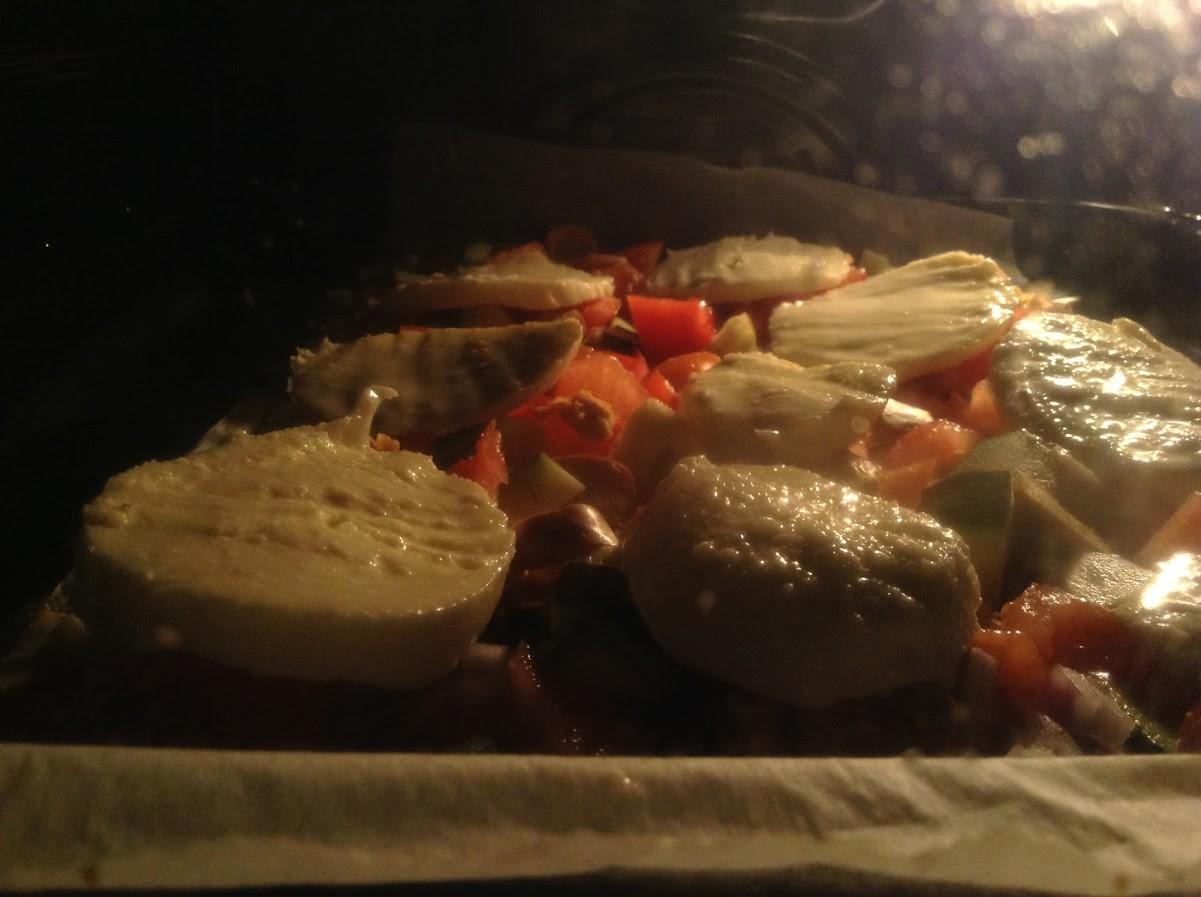 Gleich ist die Pizza fertig!