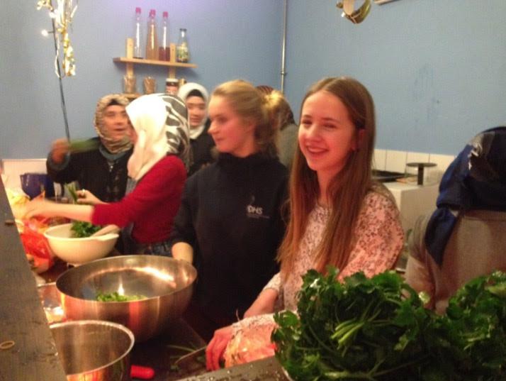 kleine feine Küche - viele tolle Menschen