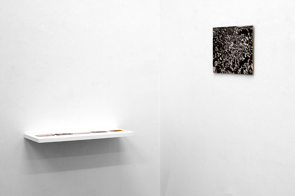 © Julia Knabe, exhibition view, Masse und Muster, objects 1-6, 2012