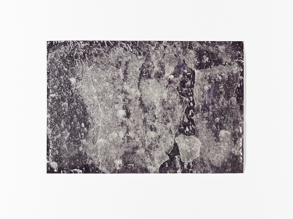 © Julia Knabbe, object 2, sugar coating on photo paper,9 x 13 cm, 2012