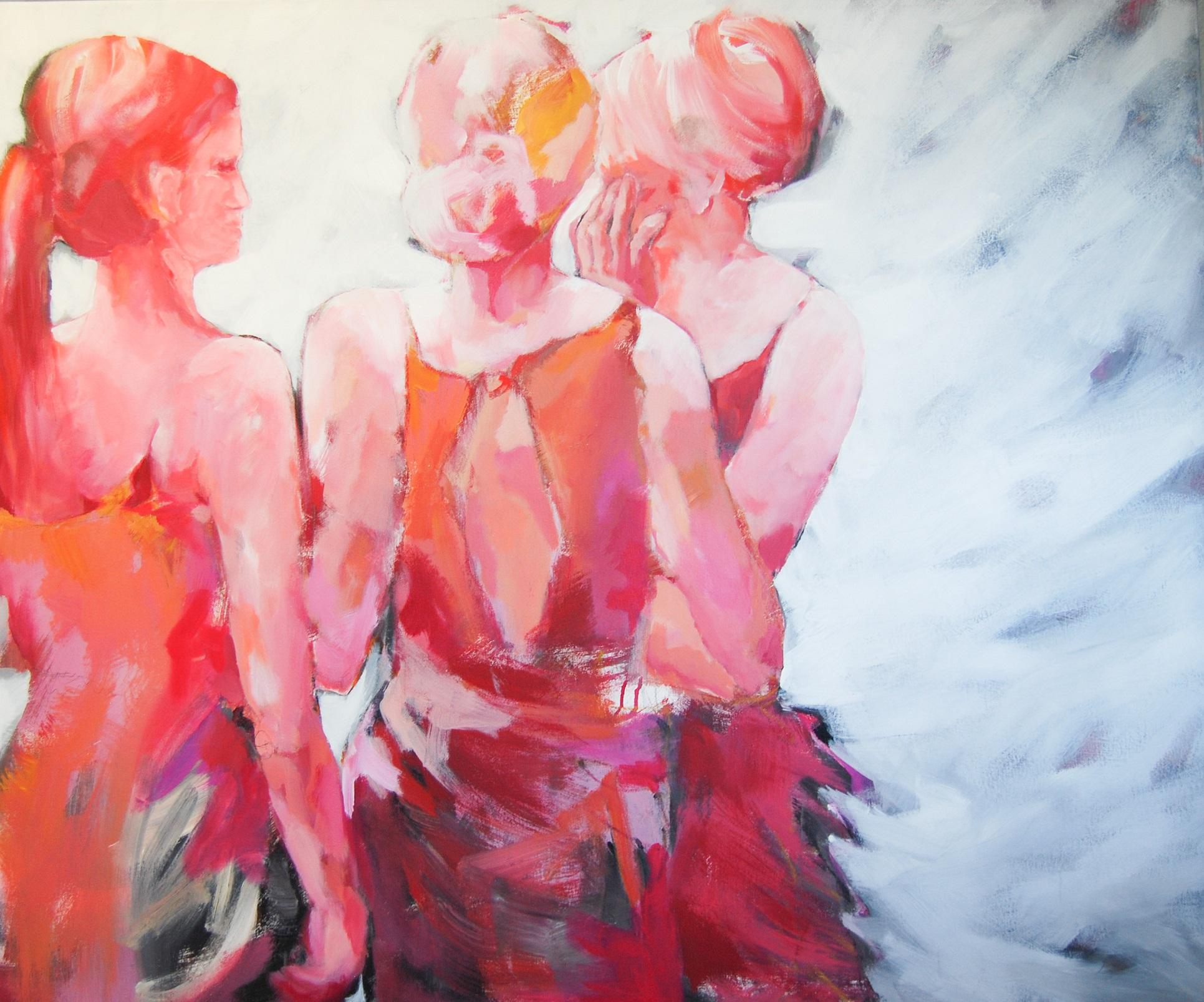 Dancing Queens II, 2013, Acryl auf Leinwand, 100 x 120 cm