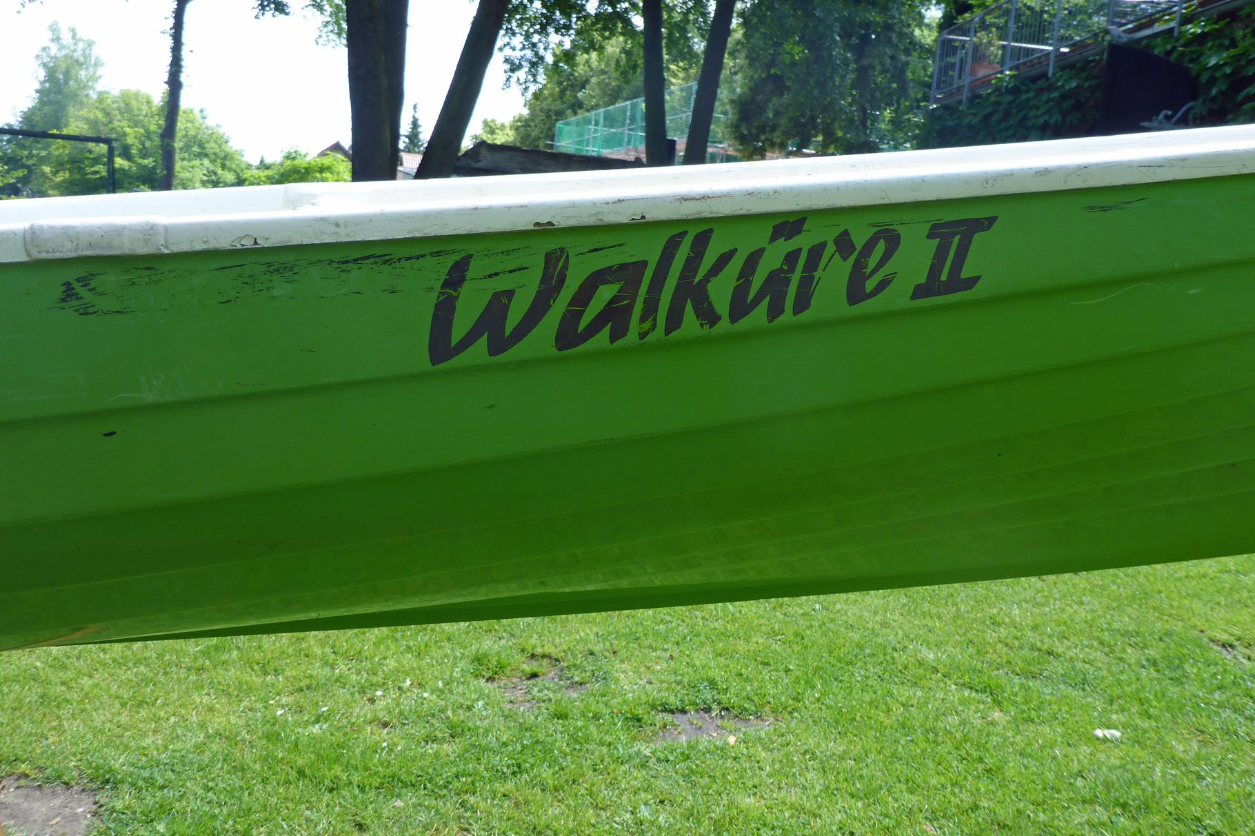 Mein Boot, die Farbe stimmt!