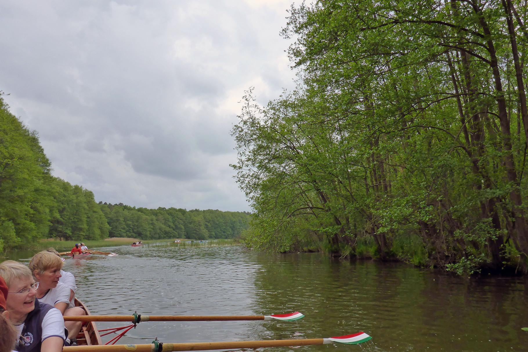 dann lag der Kagarsee vor uns.