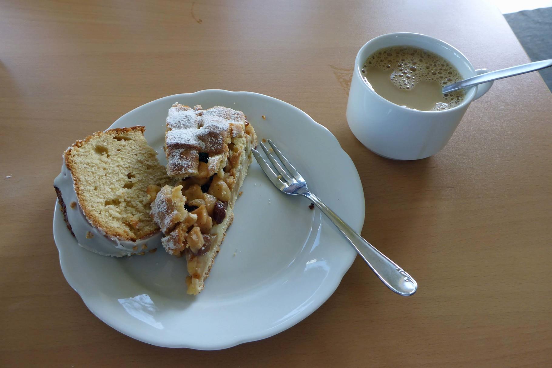 Kaffee und Kuchen zum krönenden Abschluss.