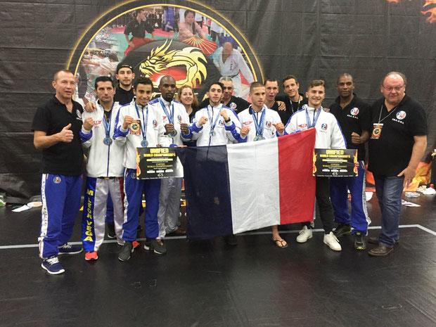 4ème participations aux championnats du monde WTKA en 2017