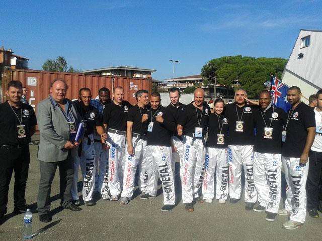 1ère participation aux championnats du monde WTKA en 2014