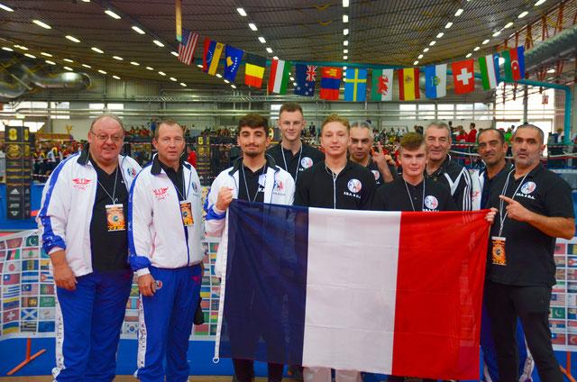 6ème participations aux championnats du monde WTKA en 2019