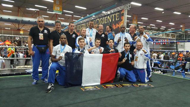 3ème participations aux championnats du monde WTKA en 2016