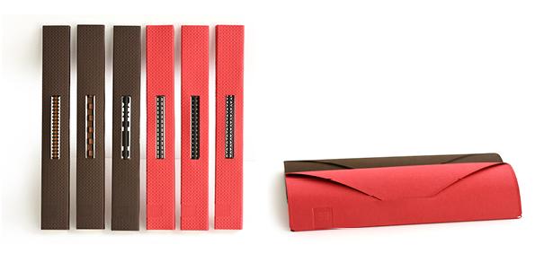 tät-tat, Brigitta und Benedikt Martig-Imhof, Dock//St.Gallen, Bleistiftskulpturen, Bleistifte ornamental skulpturiert, Geschenksverpackung, Handprägeverfahren