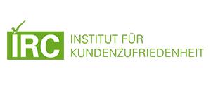 IRC - Institut für Kundenzufriedenheit – Visual Identity inkl. Logo, Webseite und Drucksachen