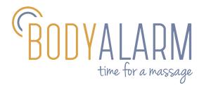 Bodyalarm – Visual Identity inkl. Logo