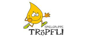 Spielgruppe Tröpfli Steinhausen – Visual Identity inkl. Logo und Webseite