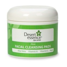 Aloe Facial Cleansing Pads, 50 pads