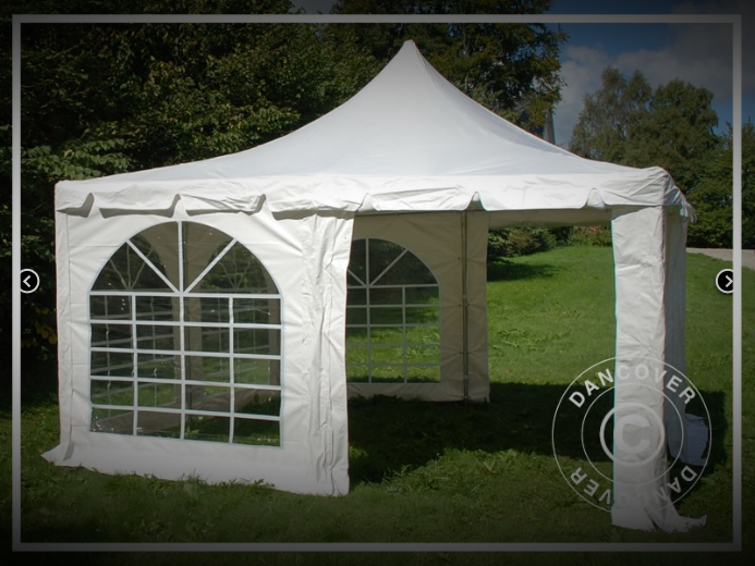 4 x 4 Meter Partyzelt (Pagode)