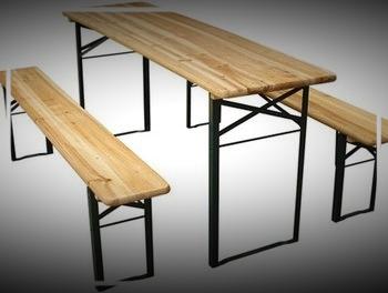 Bierzeltgarnitur Holz