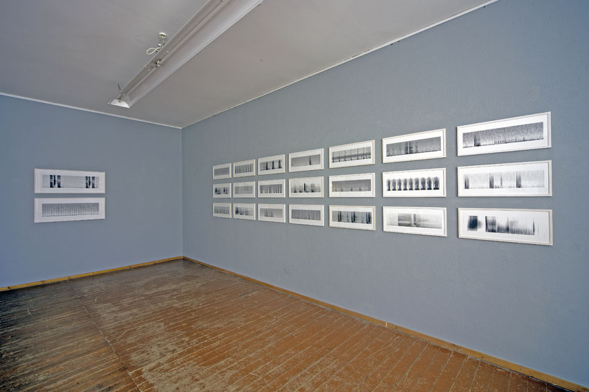 2. Stock, 1. Raum, Christina Kubisch, analyzing silence/silent exercizes (Foto: Wolfgang Claus)