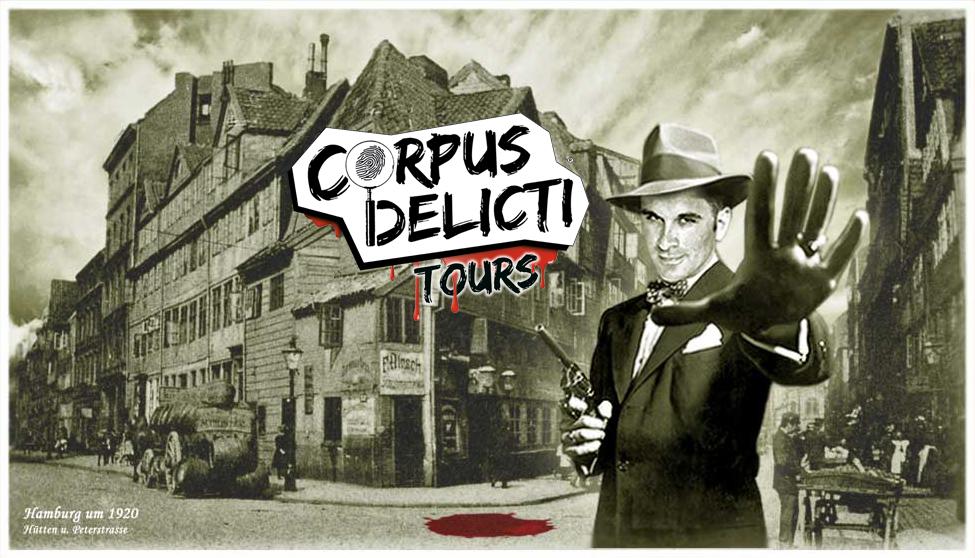 Corpus Delicti Tours Logo und Werbung