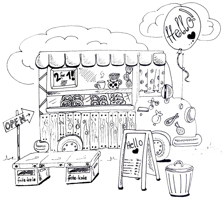 Foodtruck Illustration Deerns Art