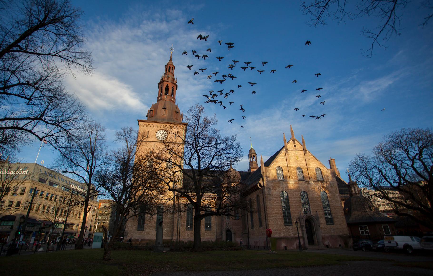 Cathédrale d'Oslo (Domkirke)