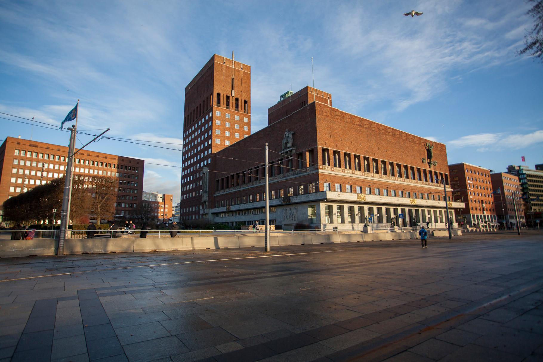 Hotel de ville d'Oslo (Radhuset)