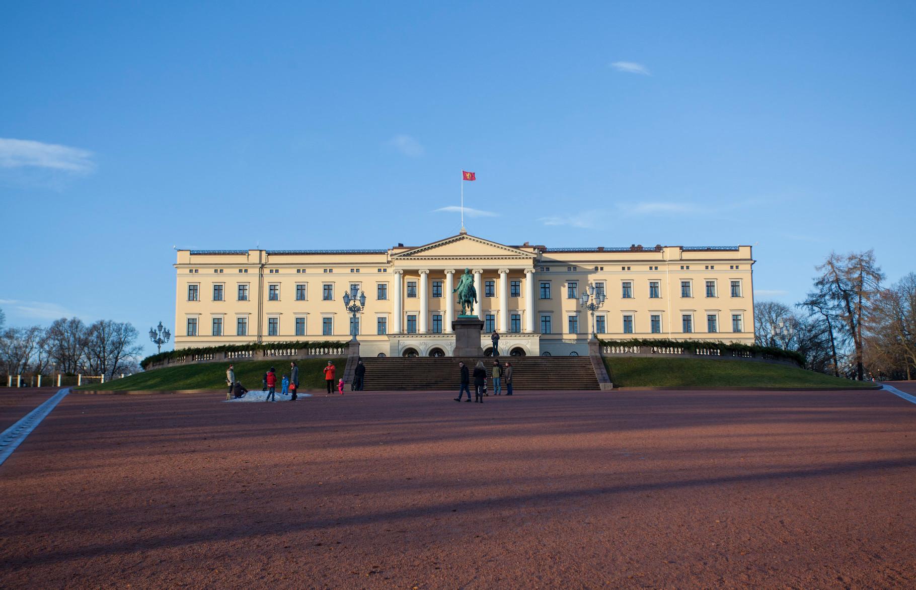 Palais royal d'Oslo
