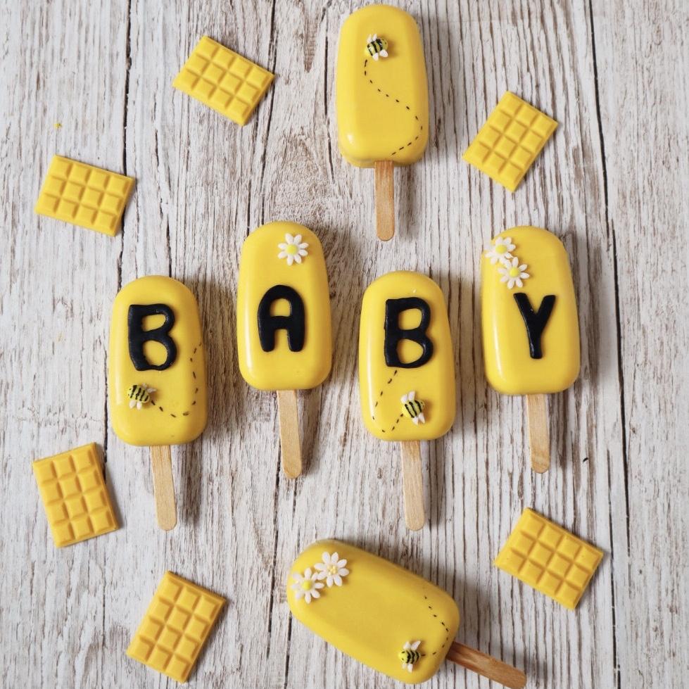 Babyshower Cakesicles Biene