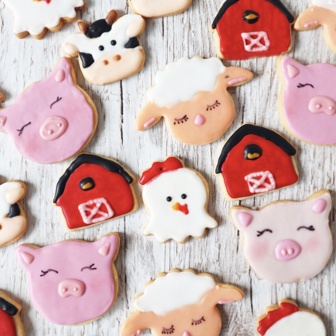 Bauernhof Cookies