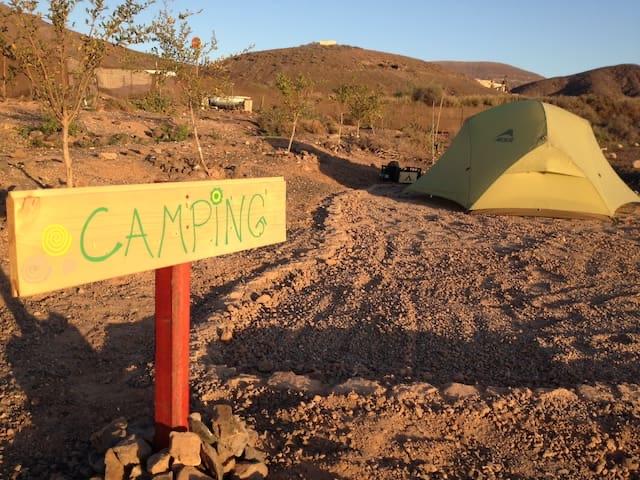 Camping bei KaSa Yoga auf Fuerteventura