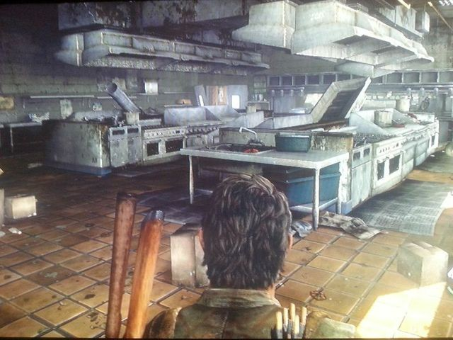 Was für eine große Küche..