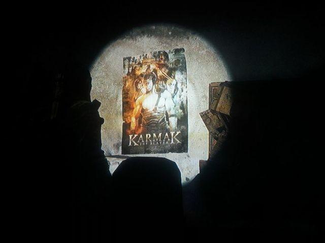 Ich dachte, da stand Karnak, aber bestimmt ein klasse Film!
