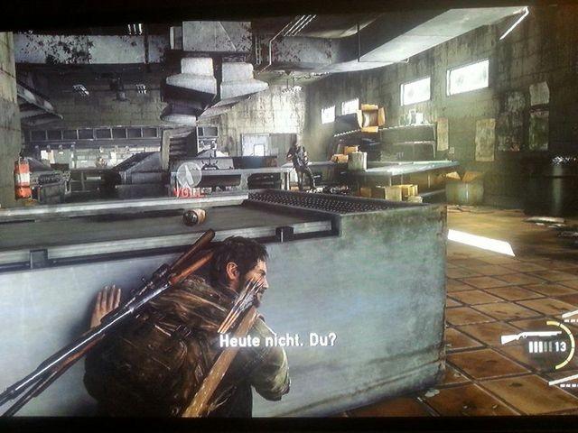 In der Küche erledigen Hunter einen Clicker