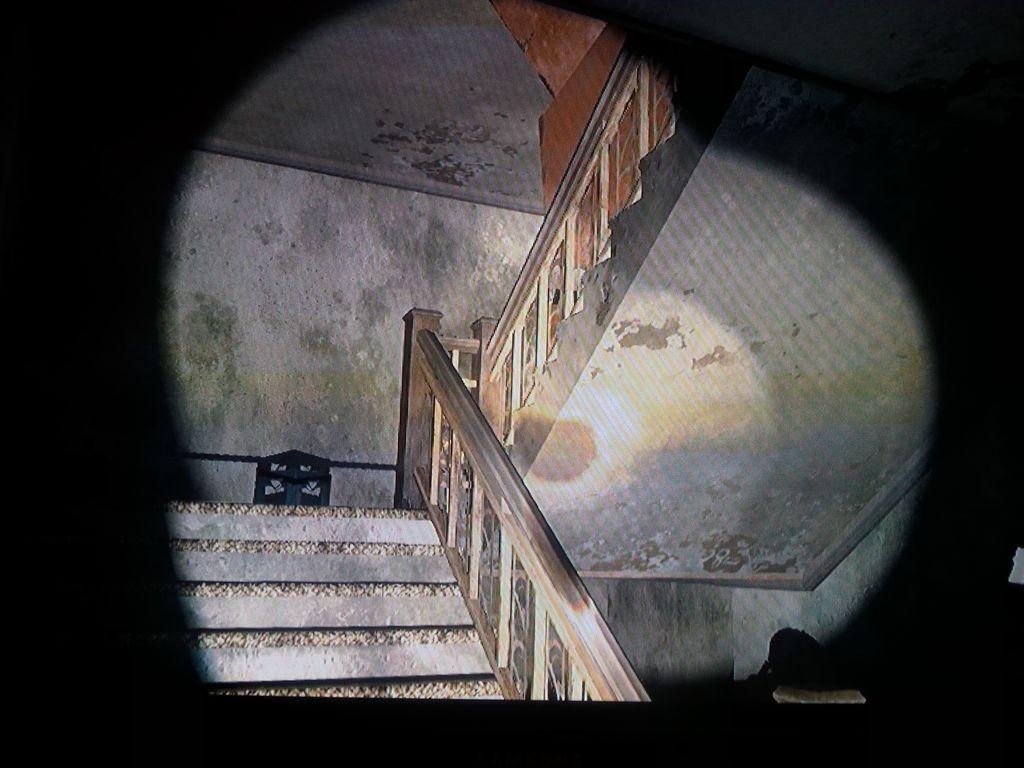Was uns da oben wohl erwartet? Clicker? Hunter?