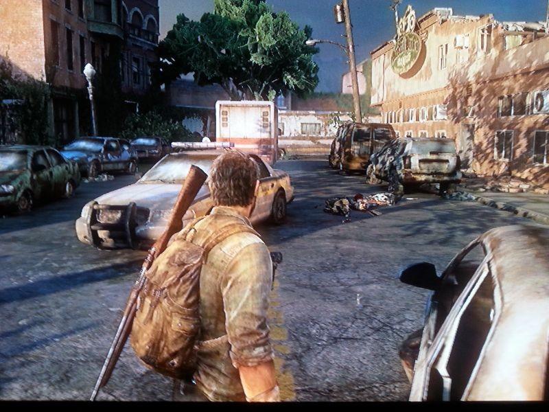 Der Parkplatz nach dem Angriff