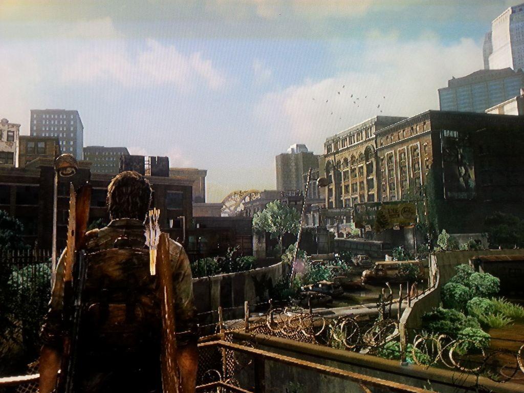 Ausblick der Stadt