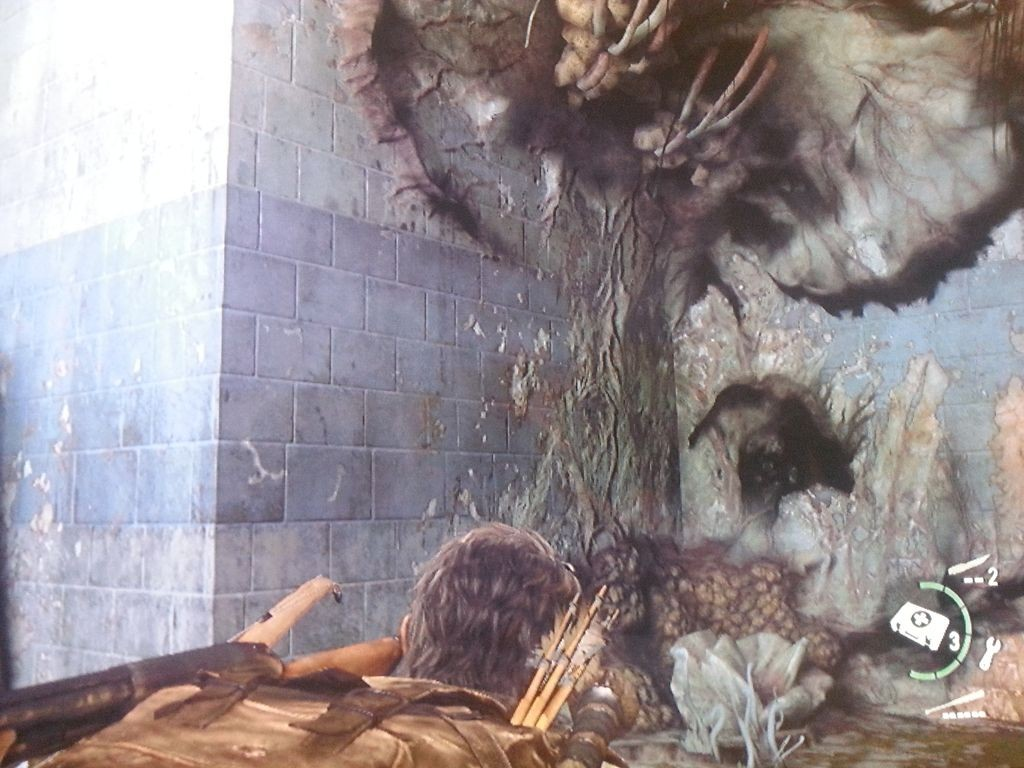 Das Bloater-Versteck mit ekligen Pilzen