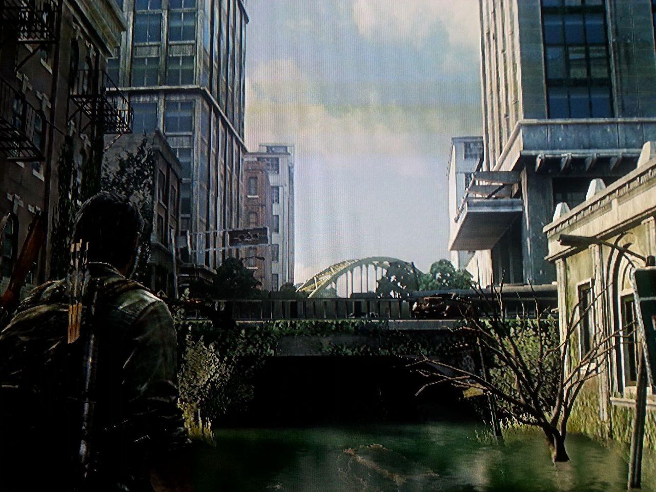 Und dann hoffentlich die Brücke