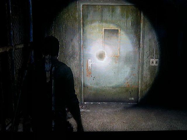Geräusche hinter der Tür