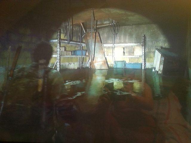 Im Keller steht alles unter Wasser